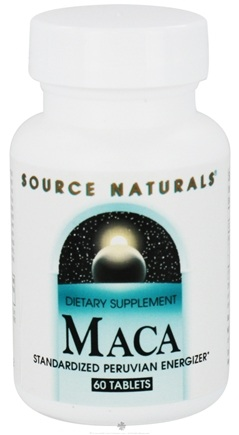 DROPPED: Source Naturals - Maca Standardized Peruvian Energizer - 60 Tablets CLEARANCE PRICED