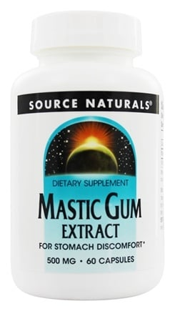DROPPED: Source Naturals - Mastic Gum Extract 500 mg. - 60 Capsules