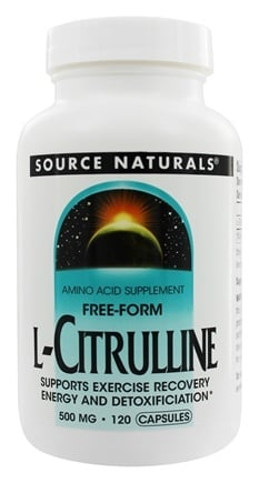 Source Naturals - L-Citrulline Free-Form 500 mg. - 120 Capsules