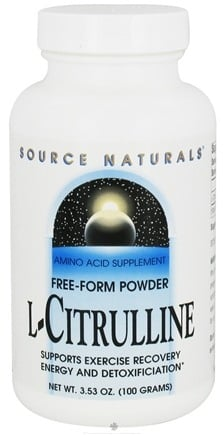 DROPPED: Source Naturals - L-Citrulline Free-Form Powder - 3.53 oz. CLEARANCE PRICED