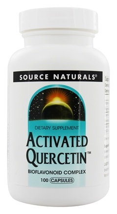 Source Naturals - Activated Quercetin Bioflavanoid Complex - 100 Capsules