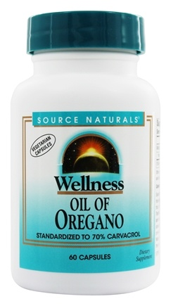 Source Naturals - Wellness Oil Of Oregano - 60 Vegetarian Capsules