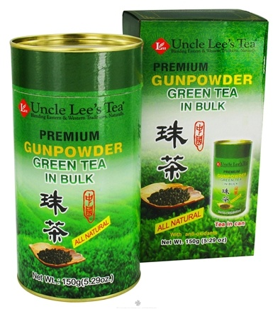 DROPPED: Uncle Lee's Tea - Premium Gunpowder Green Tea Bulk - 5.29 oz.