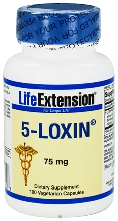 DROPPED: Life Extension - 5-Loxin 75 mg. - 100 Vegetarian Capsules