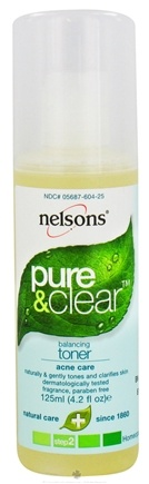 DROPPED: Nelsons - Pure & Clear Balancing Toner - 4.2 oz. CLEARANCE PRICED