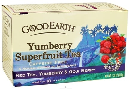 DROPPED: Good Earth Teas - Yumberry Superfruit Tea Red Tea, Yumberry & Goji Berry - 18 Tea Bags