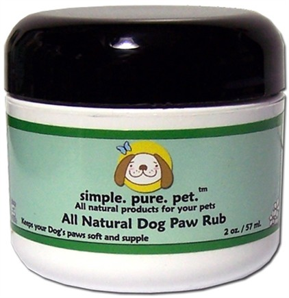DROPPED: Seaside Naturals - All Natural Dog Paw Rub - 2 oz.