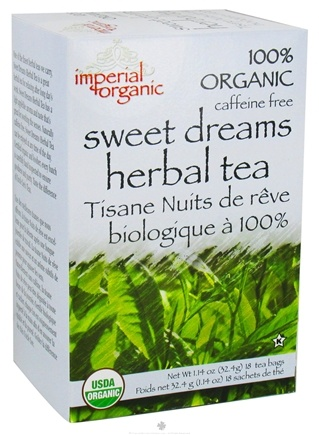 DROPPED: Uncle Lee's Tea - Imperial Organic Sweet Dreams Herbal Tea - 18 Tea Bags CLEARANCE PRICED