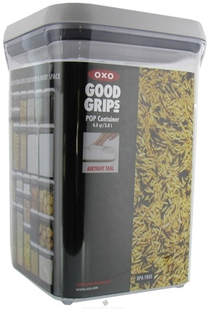 DROPPED: OXO - Good Grips POP Container Big Square - 4 qt. CLEARANCE PRICED