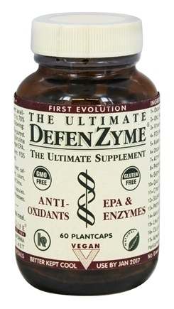 DROPPED: The Ultimate Life - The Ultimate DefenZyme - 60 Vegetarian Capsules