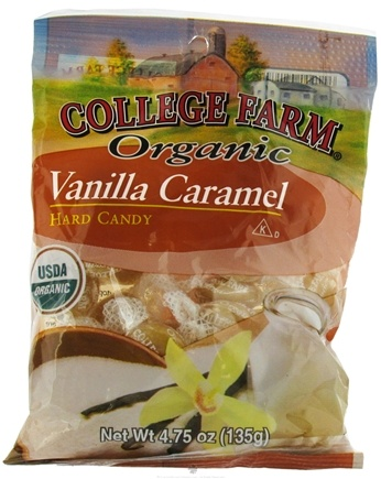 DROPPED: College Farm Organic - Hard Candy Vanilla Caramel - 4.75 oz.