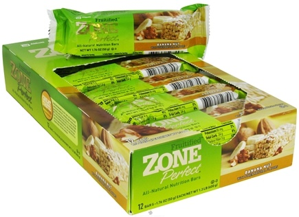 DROPPED: Zone Perfect - All-Natural Fruitified Nutrition Bar Banana Nut - 1.76 oz.
