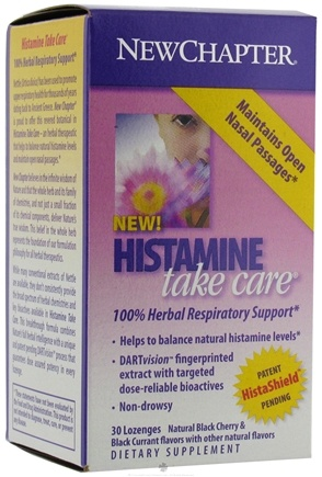 DROPPED: New Chapter - Histamine Take Care - 30 Lozenges