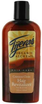 DROPPED: Tijeras Organic Alchemy - Organic Alchemy Hair Revitalizer Crimson Clove - 4 oz.