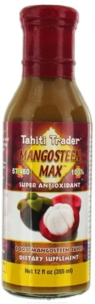 DROPPED: Tahiti Trader - Mangosteen Max 100% Mangosteen Juice - 12 oz. CLEARANCE PRICED