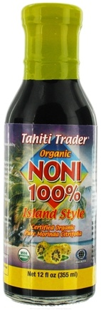 DROPPED: Tahiti Trader - Organic Noni 100% Island Style - 12 oz. CLEARANCE PRICED