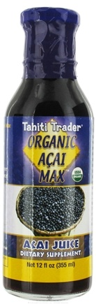DROPPED: Tahiti Trader - Organic Acai Max Acai Juice - 12 oz. CLEARANCE PRICED