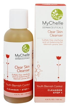 DROPPED: MyChelle Dermaceuticals - Clear Skin Cleanser For Teen Acne - 4.4 oz.
