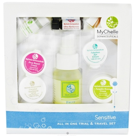 DROPPED: MyChelle Dermaceuticals - All In One Trial & Travel Gift Set For Sensitive Skin - CLEARANCE PRICED