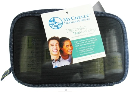DROPPED: MyChelle Dermaceuticals - Clear Skin Teen Anthology Kit Formulated Especially For Teens - CLEARANCE PRICED
