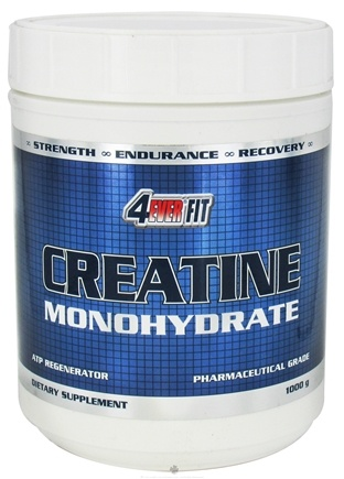 DROPPED: 4Ever Fit - Creatine Monohydrate - 1000 Grams CLEARANCE PRICED