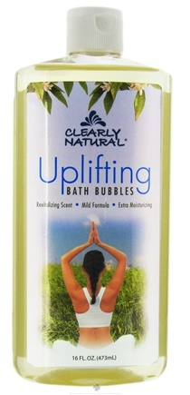 DROPPED: Clearly Natural - Bath Bubbles Uplifting - 16 oz. CLEARANCE PRICED