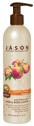 DROPPED: Jason Natural Products - Hand & Body Lotion Country Peach Passion - 12 oz.