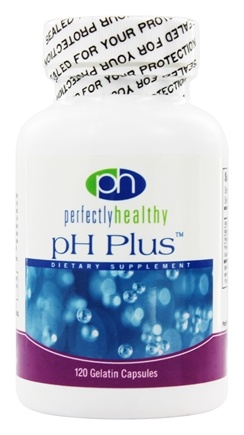 DROPPED: Perfectly Healthy - pH Plus - 120 Capsules