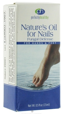 DROPPED: Perfectly Healthy - Nature's Oil For Nails Fungal Defense For Hands & Feet CLEARANCE PRICED - 0.5 oz.