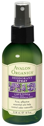 DROPPED: Avalon Organics - Deodorant Spray with Organic Essential Oils Lavender - 4 oz.
