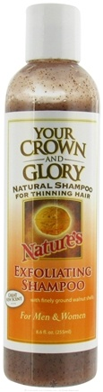 DROPPED: Your Crown and Glory - Nature's Exfoliating Shampoo - 8.6 oz.
