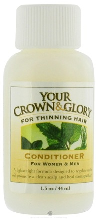 DROPPED: Your Crown and Glory - Conditioner For Women and Men Trial Size - 1.5 oz. CLEARANCE PRICED