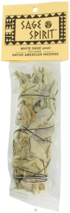 DROPPED: Sage Spirit - Smudge Wand Small White Sage - 4 in. CLEARANCE PRICED