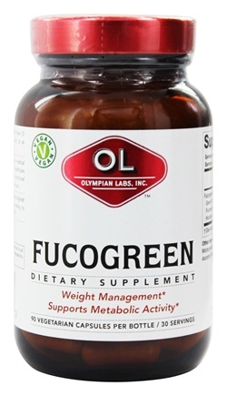 Olympian Labs - FucoGreen - 90 Vegetarian Capsules Contains Brown Seaweed