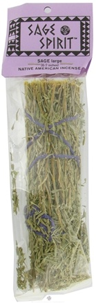 DROPPED: Sage Spirit - Smudge Wand Large Sage - 6 in.