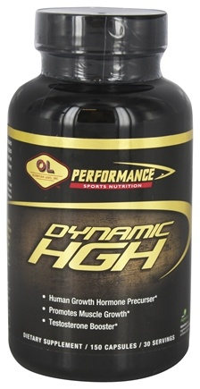 Olympian Labs - Dynamic HGH - 150 Capsules Formerly NuSoma Magnum Growth HGH & NO