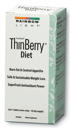 DROPPED: Rainbow Light - ThinBerry Diet - 60 Tablets with Green Coffee Extract