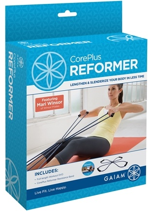 DROPPED: Gaiam - CorePlus Reformer Kit Featuring Mari Winsor - CLEARANCE PRICED