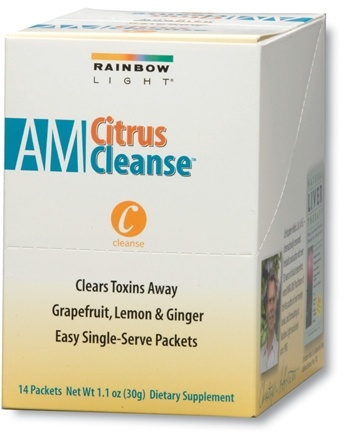 DROPPED: Rainbow Light - AM Citrus Cleanse 14 Packets - 1.1 oz.