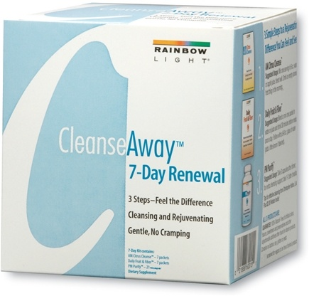 DROPPED: Rainbow Light - Cleanse Away 7-Day Renewal Kit
