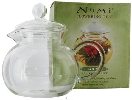 DROPPED: Numi Organic - Flowering Tea Teahouse Glass Teapot - 14 oz.