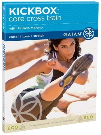 DROPPED: Gaiam - Kickbox Core Cross Train DVD with Patricia Moreno - CLEARANCE PRICED