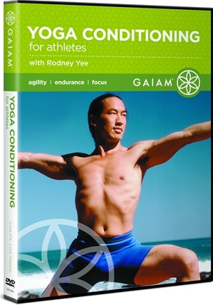 DROPPED: Gaiam - Rodney Yee Yoga Conditioning for Athletes DVD - CLEARANCE PRICED