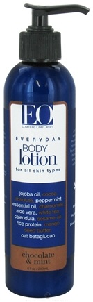 DROPPED: EO Products - Everyday Body Lotion Chocolate & Mint - 8 oz.
