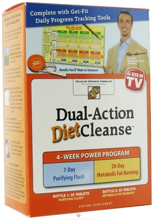 DROPPED: Cellular Research Formula - Dual-Action Diet Cleanse Kit