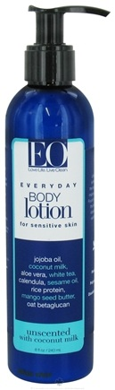 DROPPED: EO Products - Everyday Body Lotion Unscented with Coconut Milk - 8 oz.