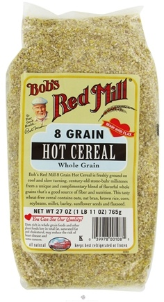 DROPPED: Bob's Red Mill - Hot Cereal 8 Grain - 27 oz. CLEARANCE PRICED