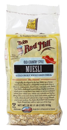Bob's Red Mill - Muesli Old Country Syle - 18 oz.