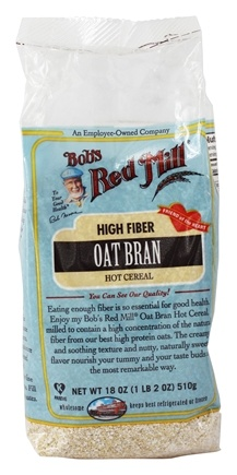 Bob's Red Mill - Oat Bran Hot Cereal - 18 oz.