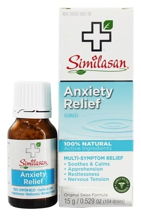 Similasan - Anxiety Relief Globules - 0.52 oz.
